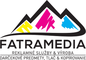 Logo FatraMedia Ružomberok, reklamná agnetúra, reklamné sljžby a výroba, copycentrum, tlač, reklamné a darčekové predmety