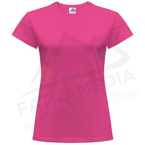 Potlač dámskeho trička FatraMedia Ružomberok - tlač tričiek