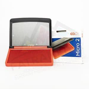 Poduška COLOP Micro2 červená poduška FatraMedia Ružomberok