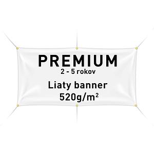 Tlač reklamného banneru plachty premium. Online tlač banneru. Cena banneru. FatraMedia