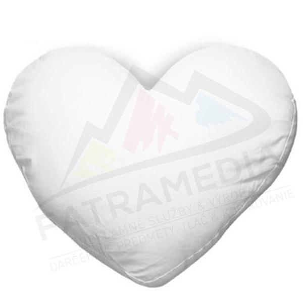 Potlač vankúša v tvare srdca FatraMedia COPY Ružomberok