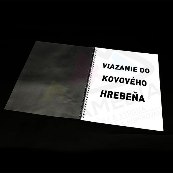 Viazanie do kovovej väzby z boku FatraMedia Ružomberok