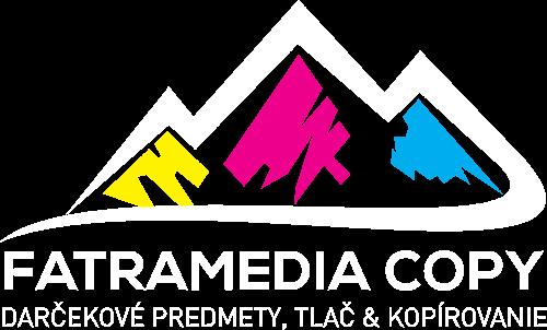 Logo FatraMedia COPY Ružomberok, coypcentrum a darčekové predmety Ružomberok